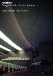 Design Visualisation for Architects Brochure - Cadspec