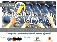 Dossier Informativo Marina Baixa Voleycup 2014