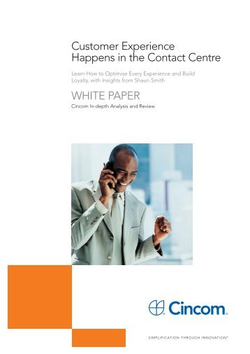 Customer Experience happens in the Contact Centre - CallNorthWest