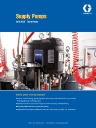 Supply Pumps Brochure - Graco Inc.