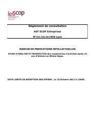 Règlement de consultation - Rhône-Alpes Solidaires