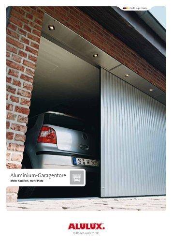Aluminium-Garagentore