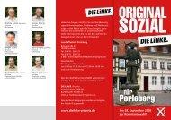 Perleberg - Die Linke. Kreisverband Prignitz