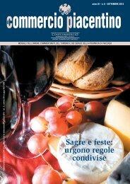 Sagre e feste - Unione Commercianti di Piacenza