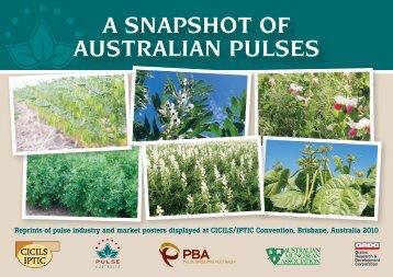 A SNAPSHOT OF AUSTRALIAN PULSES - Pulse Australia
