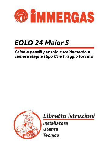 3 2 schema elettrico eolo for Caldaia immergas eolo maior 28 kw