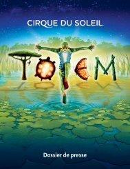 Dossier de presse - Cirque du Soleil
