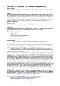 Animal Welfare, Ethics and the 3Rs Training materials and ... - LASA - Page 5