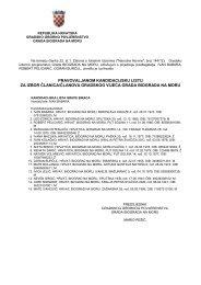 Pravovaljana kandidacijska lista za izbor članica/članova Gradskog ...