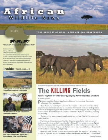 The Killing Fields - African Wildlife