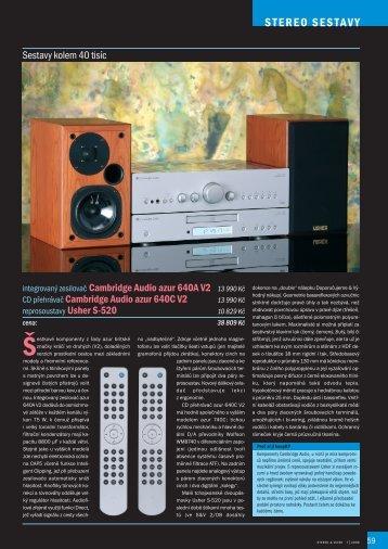 S-520 II sestavy Stereo & Video
