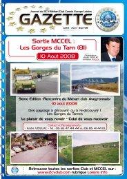 Sortie MCCEL : Les Gorges du Tarn (81) - 2CV-Mehari Club Cassis