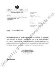 Copyright by STAK - Justizwachschule Wien