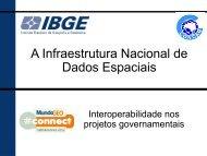 A Infraestrutura Nacional de Dados Espaciais