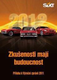 Příloha k Výroční zprávě 2011 - Sixt
