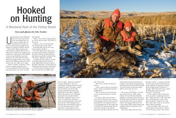 Hooked on Hunting - Nebraska Game and Parks Commission