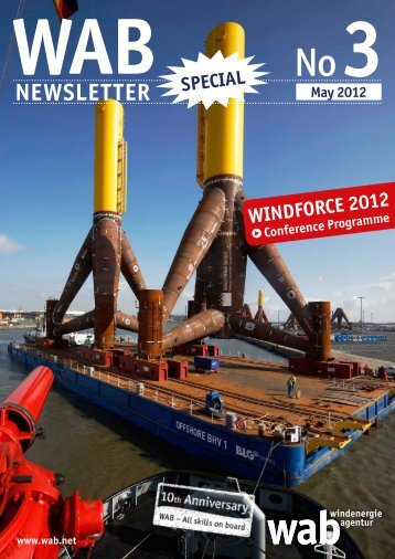 NeWsletter - WINDFORCE 2012
