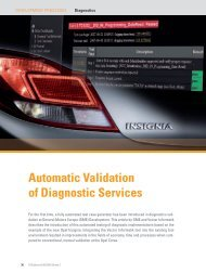 Automatic Validation of Diagnostic Services - Vector