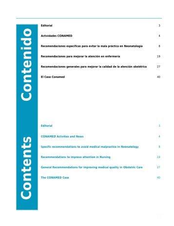 Revista CONAMED, Vol. 8, Núm. 3, julio - Comisión Nacional de ...
