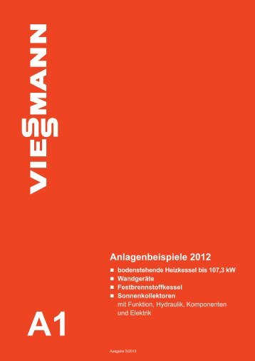 Anlagenbeispiele 2012 - Viessmann