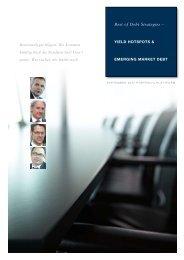 Best of Debt Strategies – - portfolio institutionell