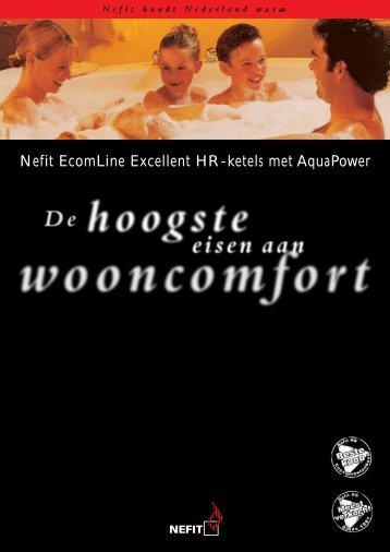 d00fc6fd5a3 Nefit EcomLine Excellent HR-ketels met AquaPower - H. Bosma .