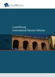 Luxembourg International Pension Vehicles - Alfi