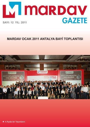 Sorumlu Yazı İşleri Müdürü - Mardav