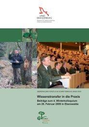 Wissenstransfer in die Praxis - Land Brandenburg