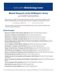 Market Research Printable List