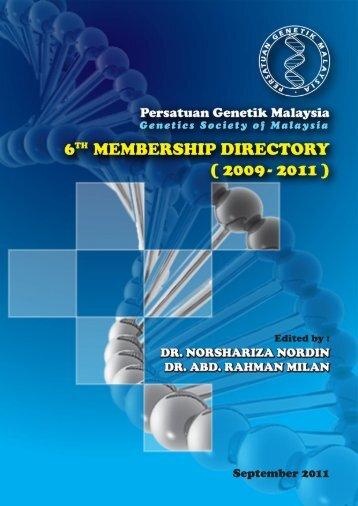 Untitled - Persatuan Genetik Malaysia