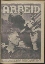 Arbeid (1941) nr. 7 - Vakbeweging in de oorlog