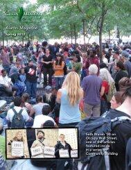 Alumni Magazine Spring 2012 - Green Meadow Waldorf School