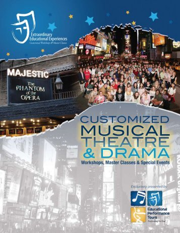 Customized Musical Theatre Workshops & Masterclasses