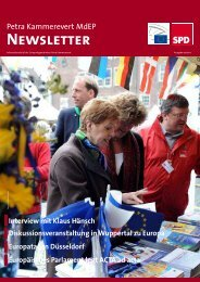 Infobrief Ausgabe 07-2012 - Petra Kammerevert