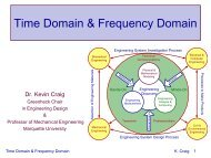 Time Domain & Frequency Domain - Mechatronics