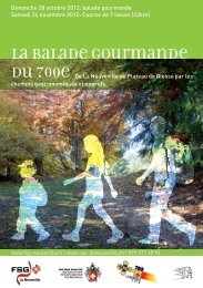 Description de la balade (brochure pdf) - CAS La Neuveville