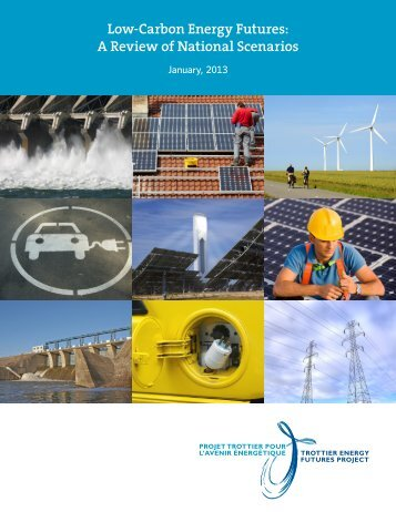 Low-Carbon Energy Futures: A Review of National Scenarios