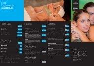 Veure carta tractaments - Hotel Can Galvany, Vallromanes