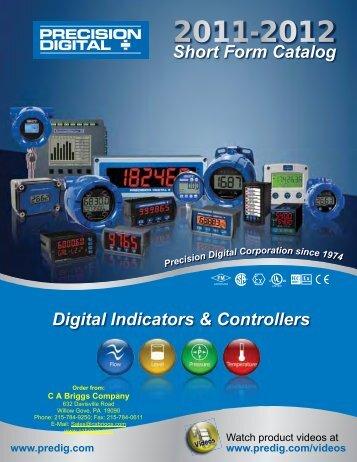 Precision Digital 2011/12 Short Form Catalog - CA Briggs