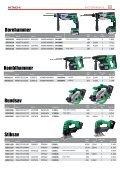 Hitachi Elektroværktøj - Page 7