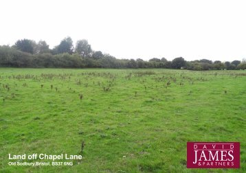Land off Chapel Lane - Farming