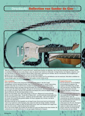 Overdacht: Reflection van Sander de Gier - De Gier Guitars & Basses