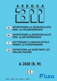 A 2608 (B, M) - Luna