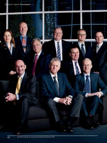 Directors' report: Governance - Rank Group