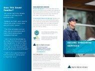 Secure Shredding Services - Iron Mountain Canada