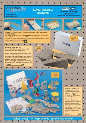 CONSTRUCTIES/ BOUWEN - Opitec.com
