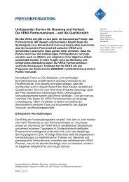 Die VEKA Partnerseminare – weil die Qualität zählt