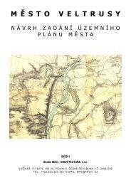 Návrh zadání územního plánu města Veltrusy 09/2011