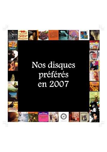 Nos disques preferes 2007